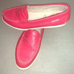Cole Haan Muted hot pink loader women size 6.5